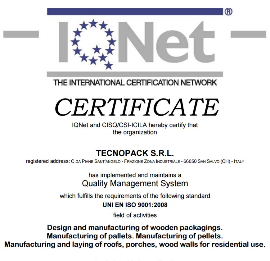 TECNO IQNET 2015 2018